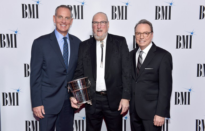 Photo of BMI Icon Award winner Steve Cropper